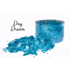 Crystal Candy Edible Flakes - Day Dream Blue