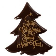 Bulk Belgian Chocolate Christmas Trees Box/60