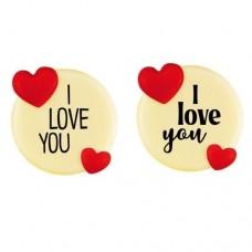Chocolate 'I Love You' Decorations Box/135
