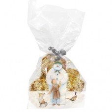 The Snowman™ Woodland Friends Cello Bag with Twist Ties Pk/20