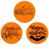 """Happy Halloween Cupcake Toppers - 15 x 2"""""""