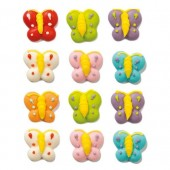 Decora Butterflies Sugar Decorations Pk/12