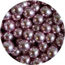 6mm Metallic Pink Pearls 80g