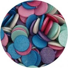 Jumbo Glimmer Confetti Multi Coloured 70g