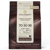2.5kg Callebaut Belgian Extra Dark Chocolate 70%
