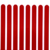 Popsicle Sticks Pk/8 - Red