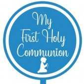 Printed Acyrlic Paddle - First Holy Communion Boy