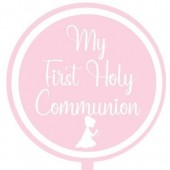 Printed Acyrlic Paddle - First Holy Communion Girl
