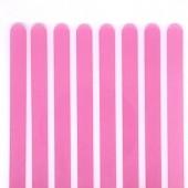 Popsicle Sticks Pk/8 - Translucent Pink
