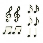 Sweet Decor Musical Notes- Box 20