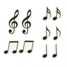 Sweet Decor Musical Notes- Box 20