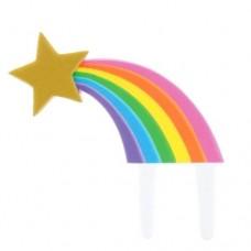 Rainbow Shooting Star Gumpaste Topper