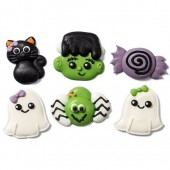 Decora Frankenstein Sugar Decorations Pk/6