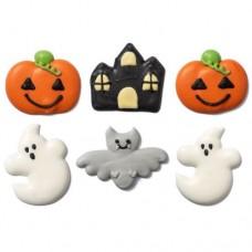 Decora Halloween Fantasy Sugar Decorations Pk/6