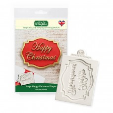 Katy Sue Happy Christmas Large Plaque