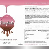 Dinkydoodle Confectioners Drip - Metallic Silver