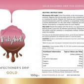 Dinkydoodle Confectioners Drip - Metallic Gold