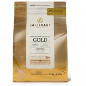 2.5kg Callebaut Belgian Gold Chocolate