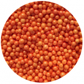 Glimmer Orange Mini Pearls 80g