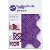 Wilton Precision Patterns Trellis Fondant Mould