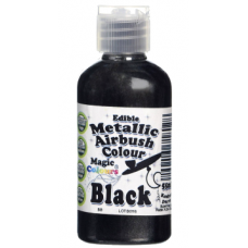 Magic Colours Airbrush - Metallic Black 55ml
