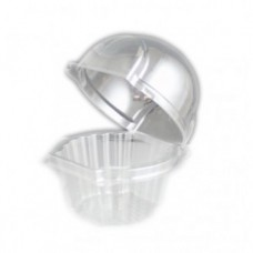 Clear Cupcake Pods Pk/100