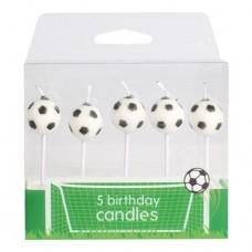 Football Candles Pk/5