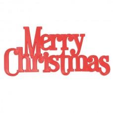 Merry Christmas Large Motto
