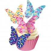 Squires Edible Wafer Butterflies - Sprinkles