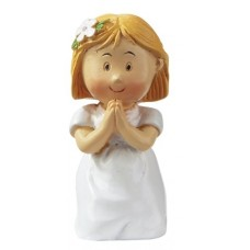 Mini Communion Girl Cake Topper