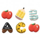 Decora Back to School Decorations Pk/6