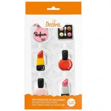 Decora Make Up Decorations Pk/6