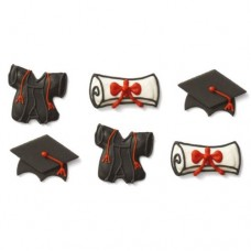 Decora Graduation Decorations Pk/6