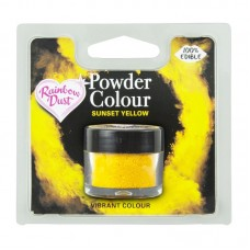 Rainbow Dust Powder Colour - Sunset Yellow