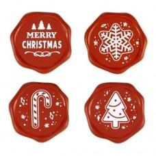 Bulk Chocolate Christmas Stamps Box/96