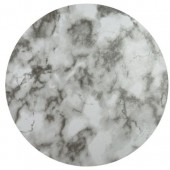 """10"""" Round Double Thick Card - Marble"""