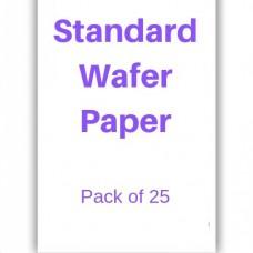Standard Wafer Paper Pk/25