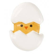 Belgian Chocolate 2D Chicks in Eggs Pk/10