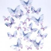 Crystal Candy Wild Wafer Butterflies Pk/22