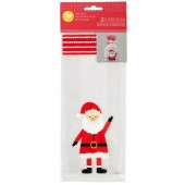 Wilton Santa Treat Bags Pk/20