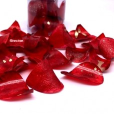 Sweet & Edible Rose Petals - Red & Gold