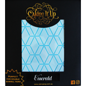 Caking It Up Stencil - Emerald