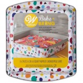 "Wilton Bake & Bring Tin - 8"" Square"