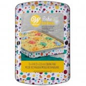 "Wilton Bake & Bring Tin - 9"" x 13""  Oblong"