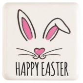 Belgian Chocolate Easter Bunny Squares Box/175