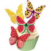 Squires Edible Wafer Butterflies - Fruity