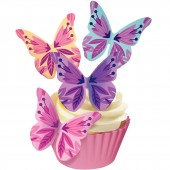 Squires Edible Wafer Butterflies - Floral Crocuses