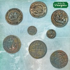 Katy Sue Treasure Coins Mould