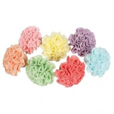 Assorted Sugar Pom Pom Decorations Box/35