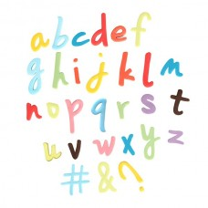 Script Star Easy Push Alphabet Cutters- Lower Case